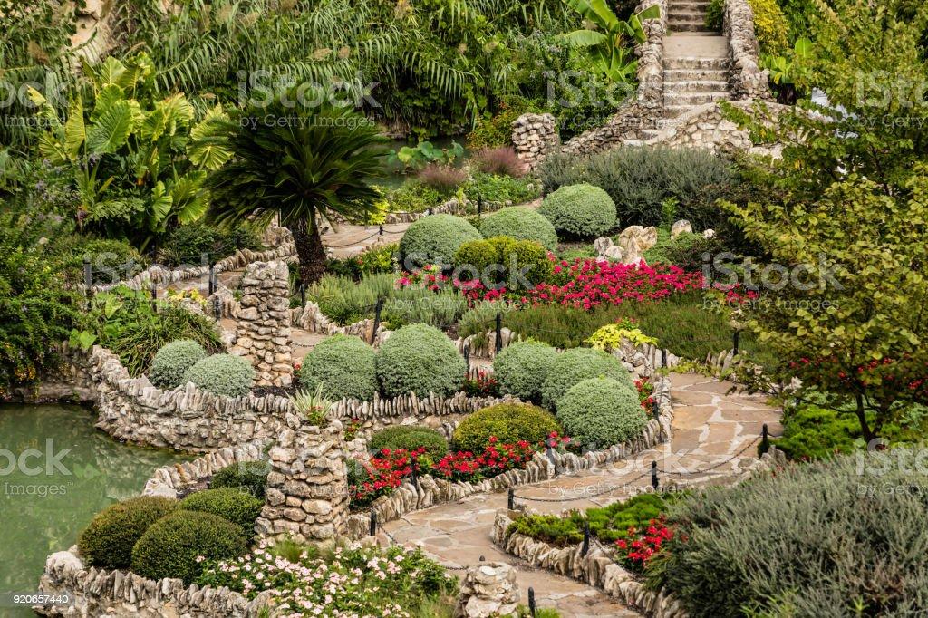 San Antonio Japanese Tea Garden Stock Photo & More Pictures of City ...