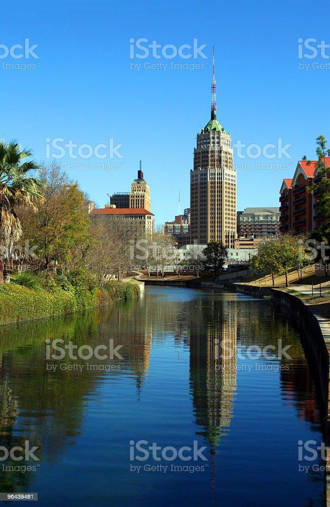 Reflexo de San Antonio - Foto de stock de Cena de tranquilidade royalty-free