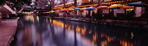 San Antonio Riverwalk 2 stock photo