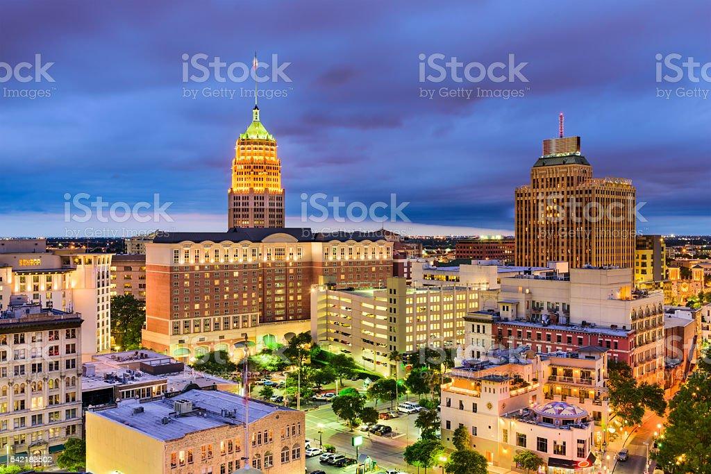 San Antonio, Texas Cityscape stock photo