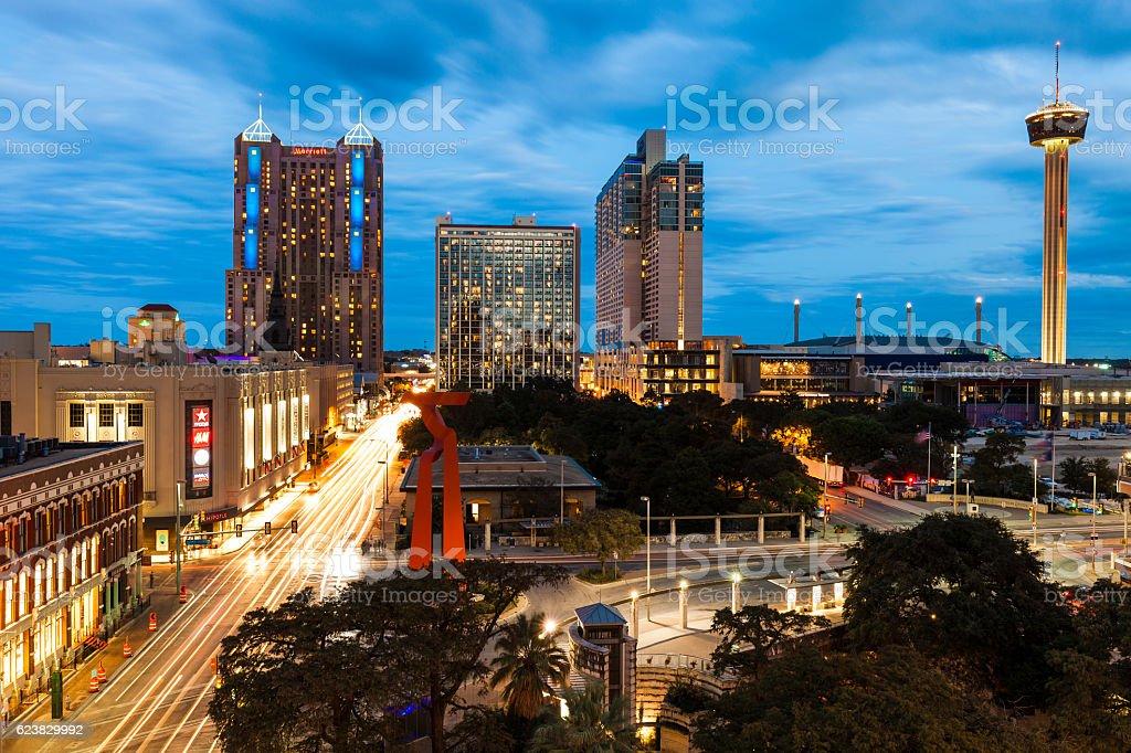 San Antonio, Texas stock photo