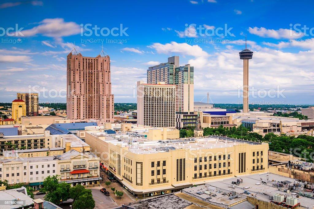San Antonio, Texas Skyline stock photo