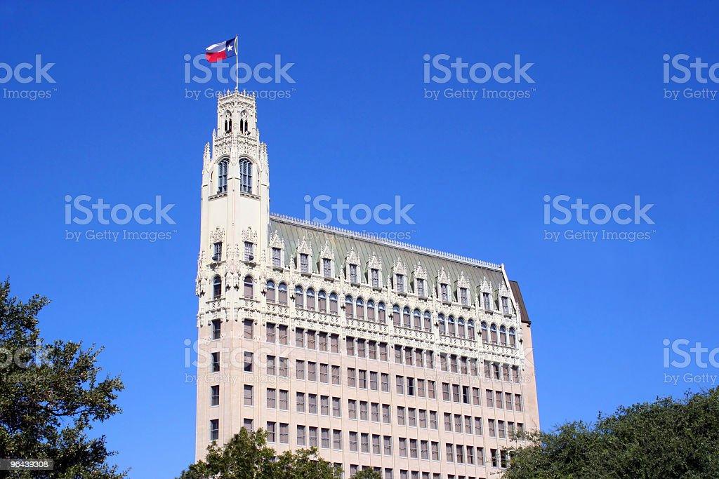 San Antonio Texas Skyline stock photo