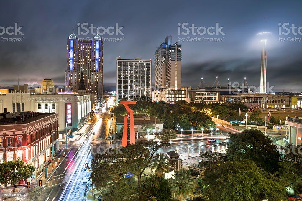 San Antonio Texas USA stock photo