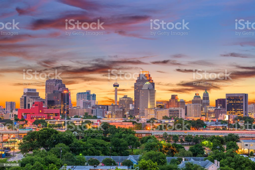 San Antonio, Texas, USA stock photo