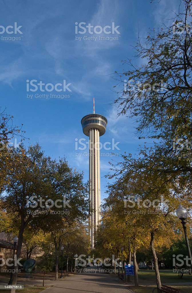 San Antonio Tower stock photo