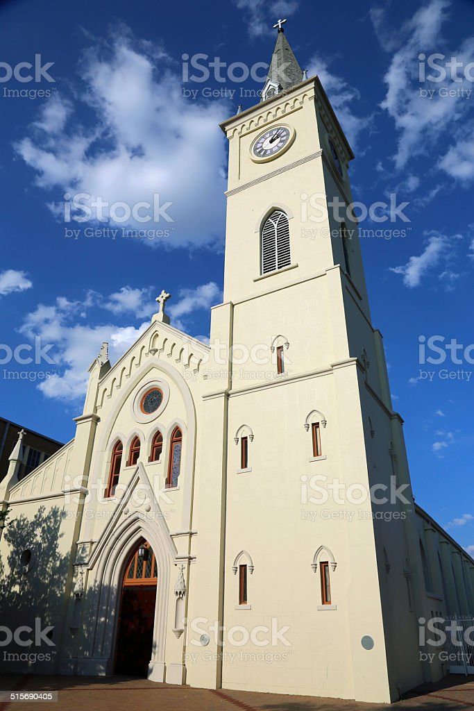 San Augustin de Laredo close up stock photo