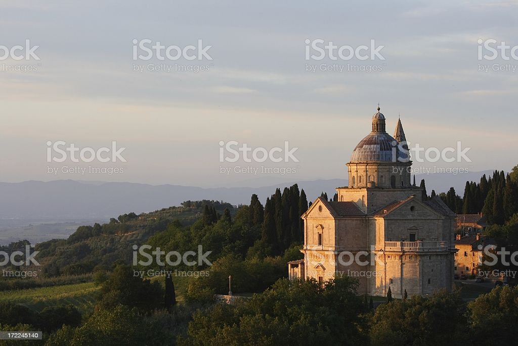 San Biagio before Sunset stock photo