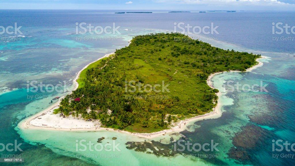 Îles San Blas - Photo de Amérique centrale libre de droits
