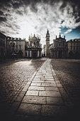 istock San Carlo Square and Twin Churches In Turin, Italy 1251294075
