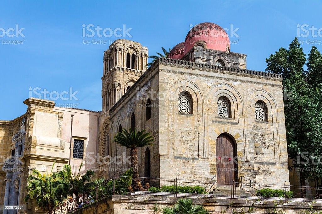 San Cataldo church in Palermo, Italy stock photo