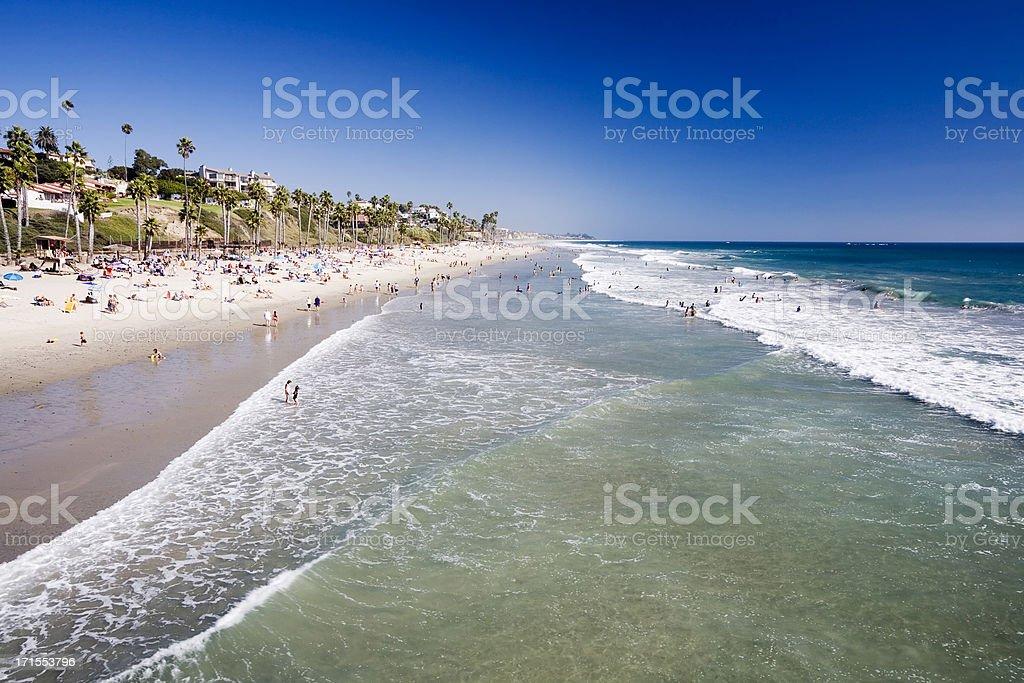 San Clamente Seafront, California royalty-free stock photo