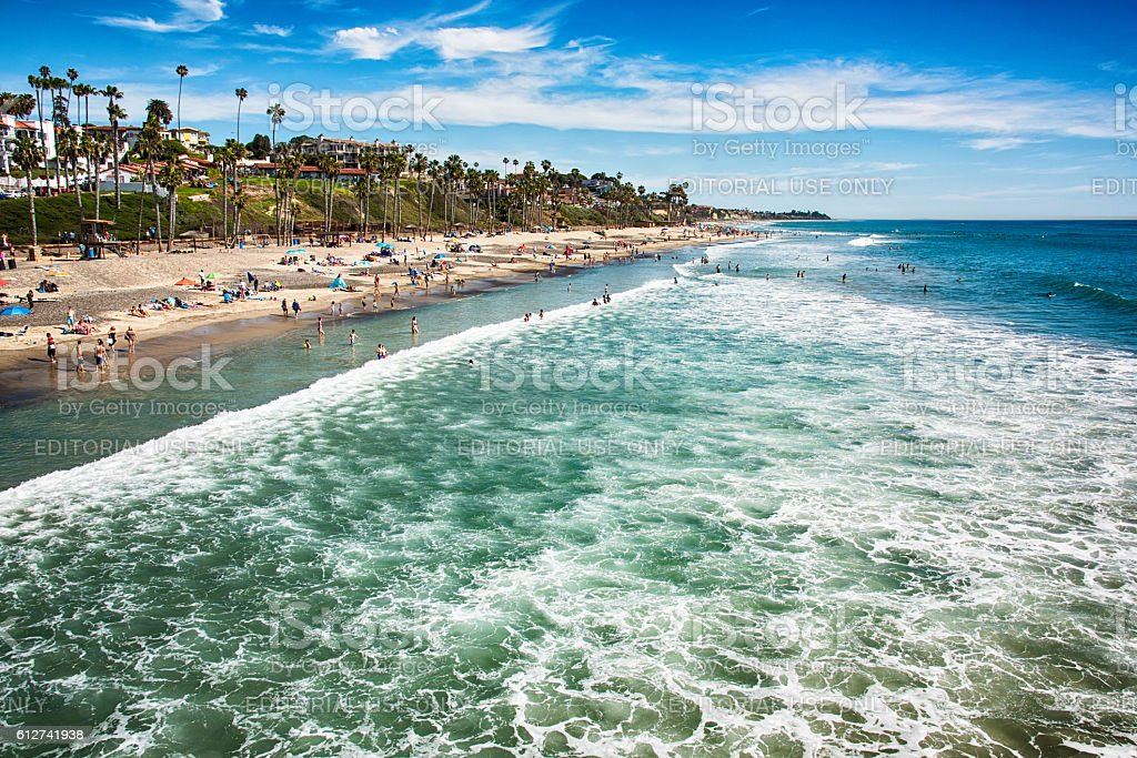 San Clemente, Southern Orange County California stock photo