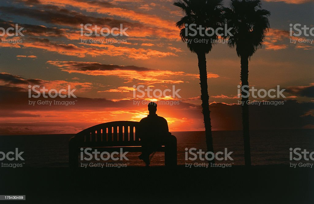 San Clemente Sunset royalty-free stock photo