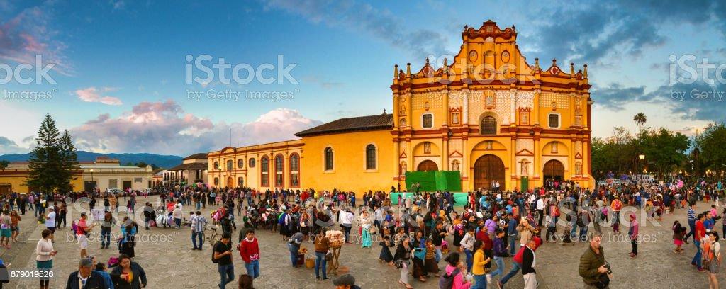 San Cristobal de las Casas au Chiapas, Mexique photo libre de droits