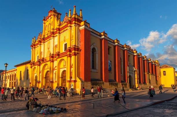 San Cristobal de las Casas, Mexico stock photo