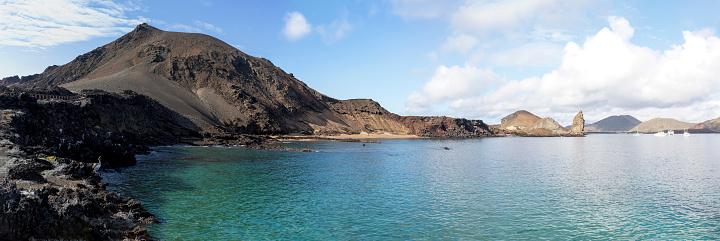 San Cristobal Island Coastal Panorama