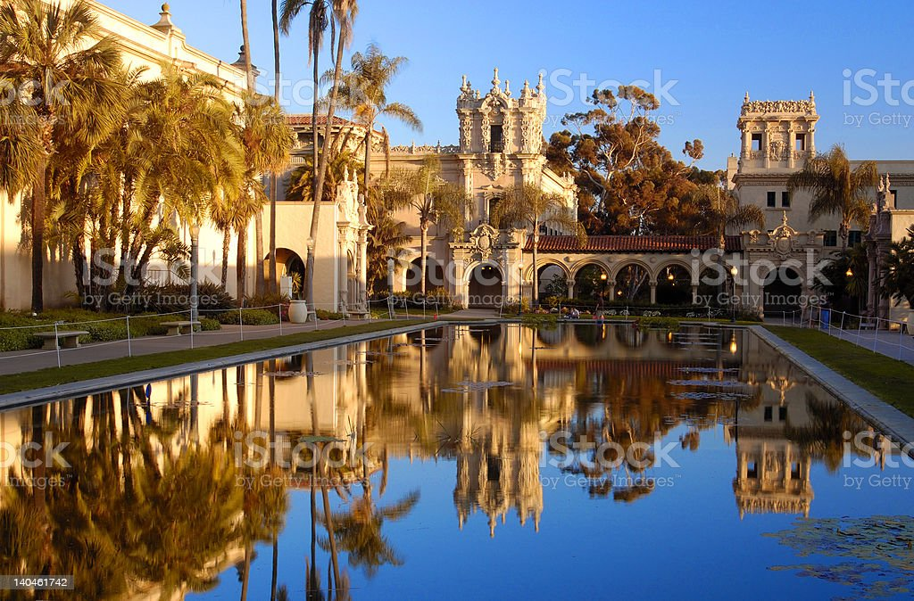 San Diego Balboa Park stock photo