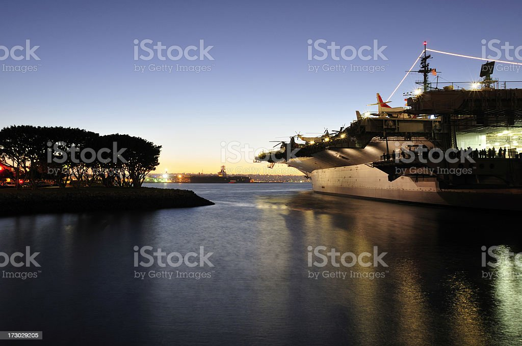 San Diego Bay Scenic royalty-free stock photo