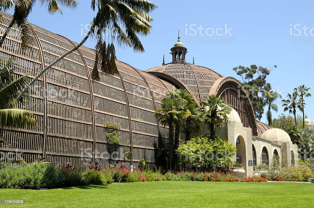 San Diego Botanical Building royalty-free stock photo