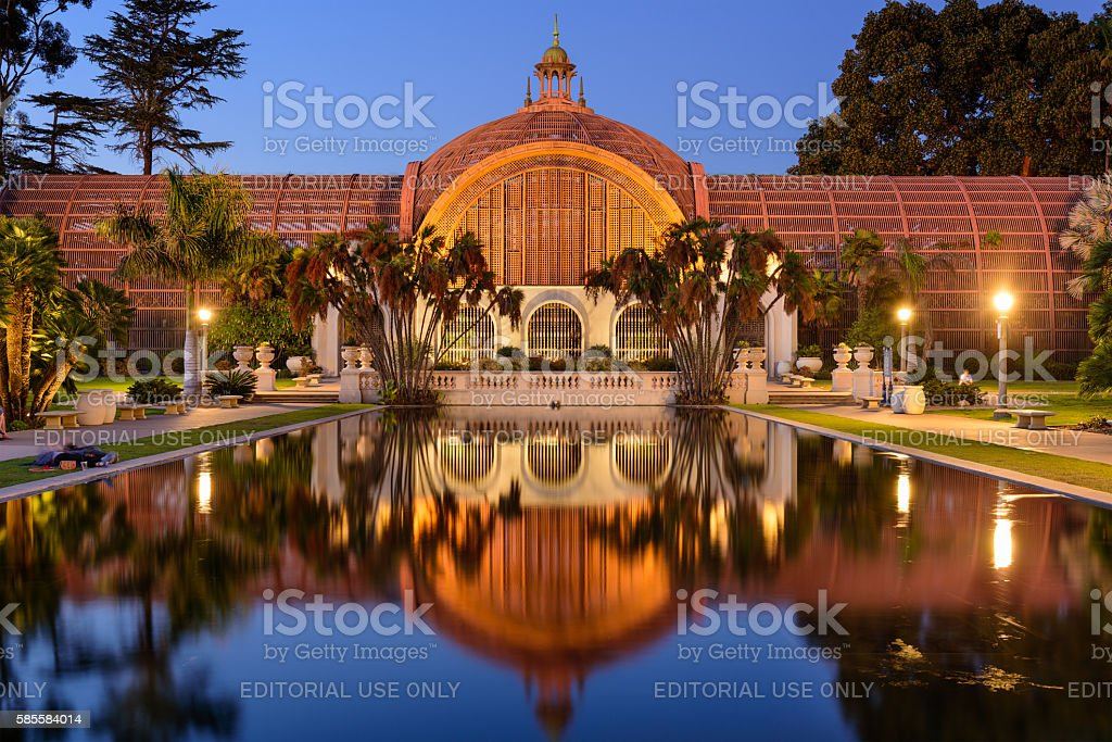 San Diego Botanical Gardens stock photo