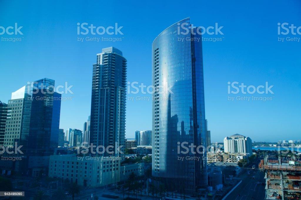 San Diego, California - Downtown stock photo