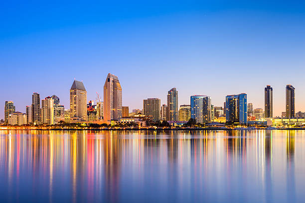 Royalty Free San Diego Skyline Pictures, Images And Stock -1366