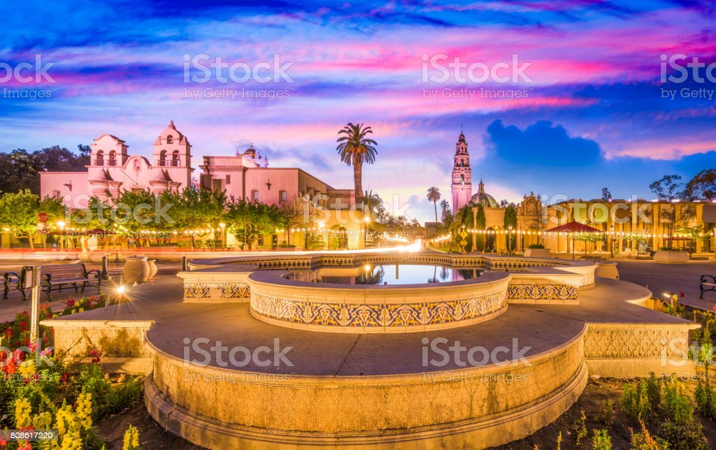 San Diego, California stock photo