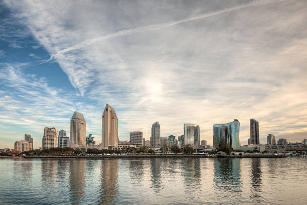 San Diego, California Skyline stock photo