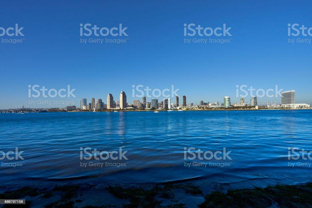 San Diego, California Skyline stock photo