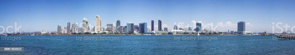 San Diego stadsbilden - Royaltyfri Arkitektur Bildbanksbilder