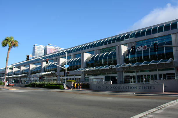 San Diego, Kalifornien, USA - 4. Juli 2015: San Diego Convention Center in Kalifornien – Foto
