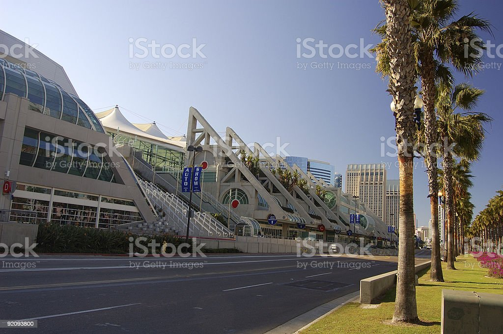 San Diego Convention stock photo