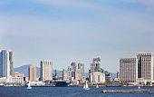 San Diego Skyline as seen from the harbor