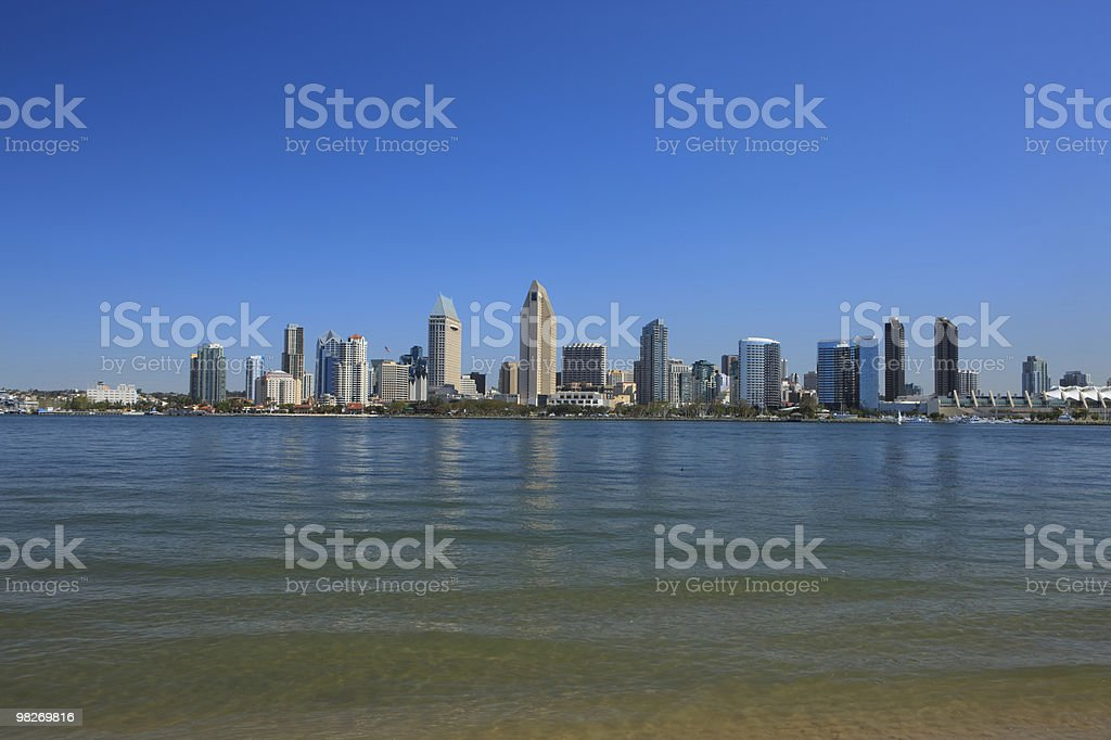 San Diego Harbor royalty-free stock photo