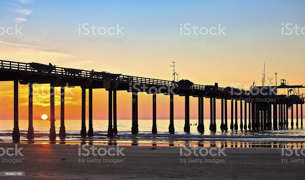 San Diego La Jolla Shores Beach, Southern California, USA royalty-free stock photo