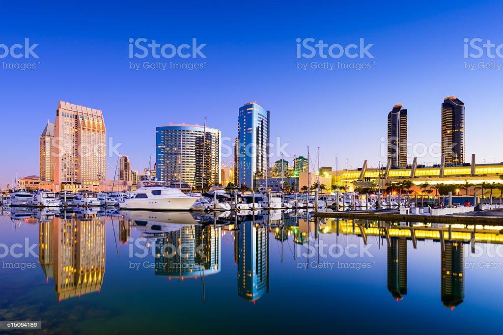 San Diego Marina stock photo