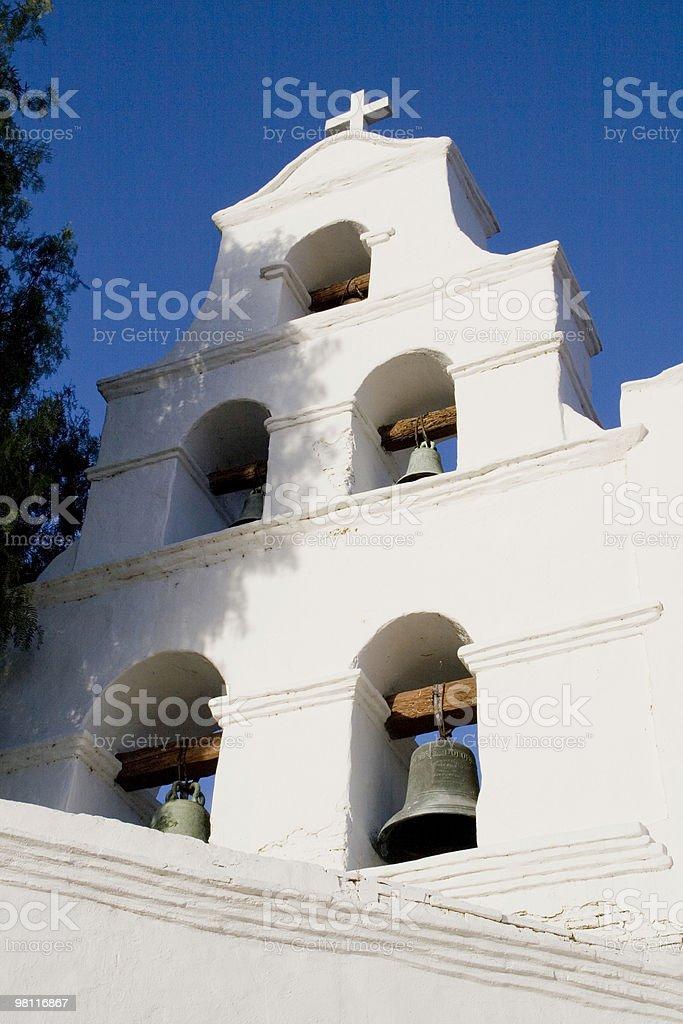 San Diego Mission De Alcala royalty-free stock photo