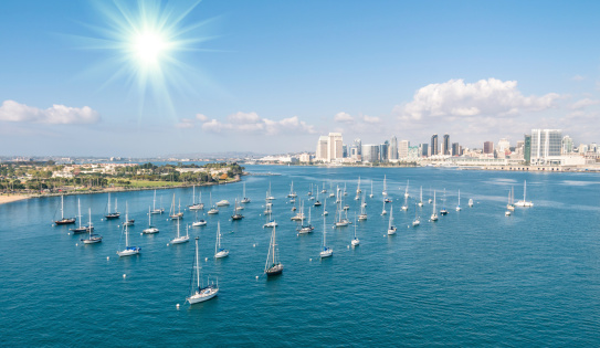 San Diego skyline and Waterfront