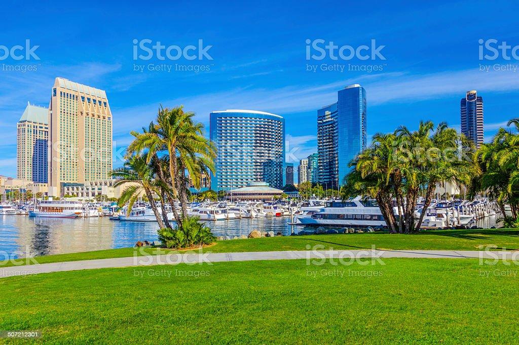 Skyline von San Diego, Kalifornien – Foto