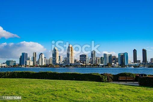 San Diego Skyline as seen from the Coronado ferry landing