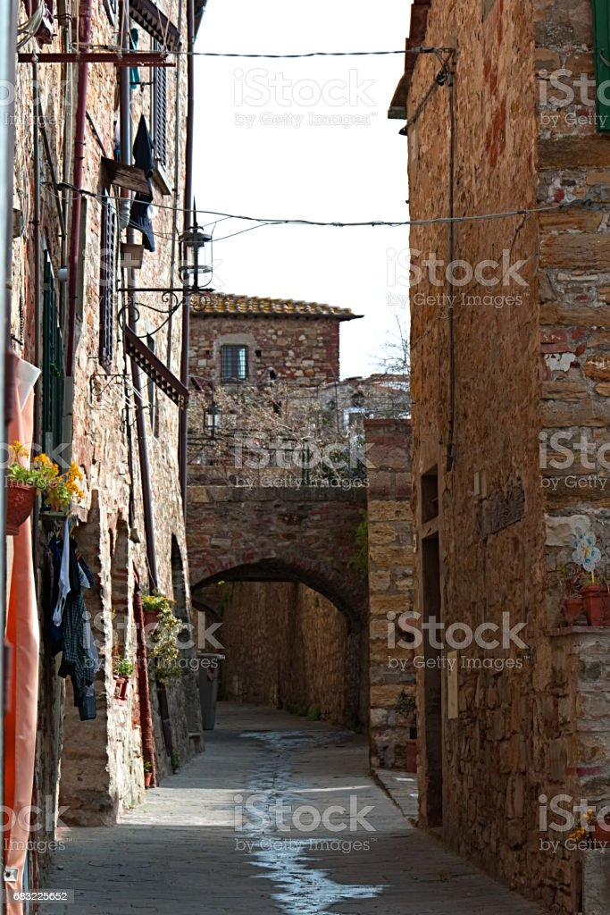 San Donato in the Chianti, the wonderful country in Italy stock photo