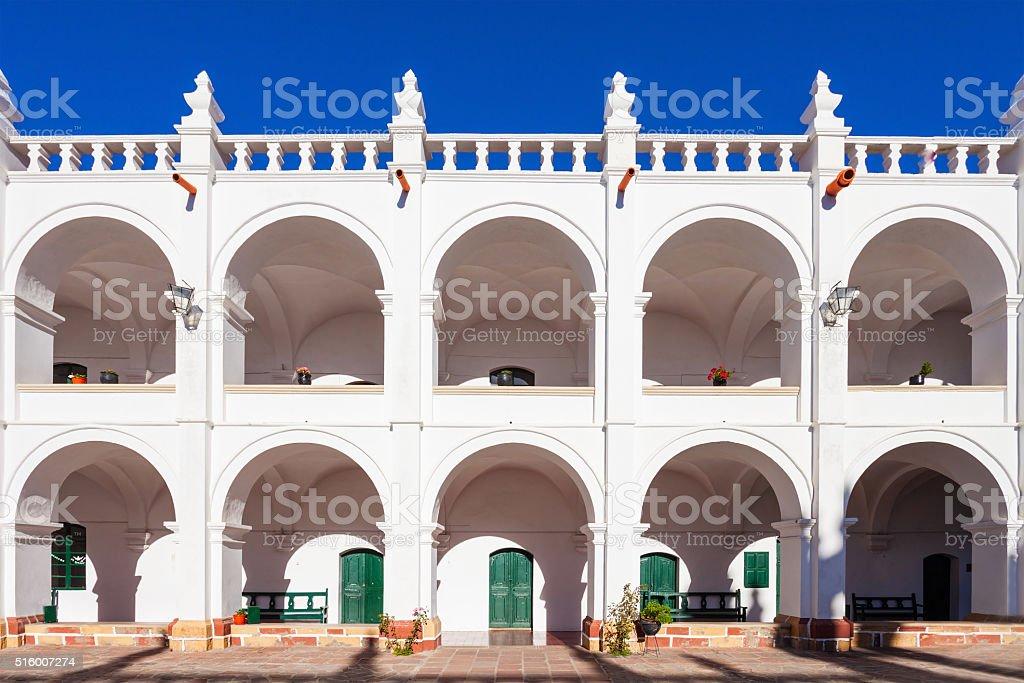San Felipe Church stock photo