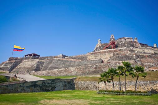 San Felipe カルタへナ砦 - まぶしいのストックフォトや画像を多数ご用意