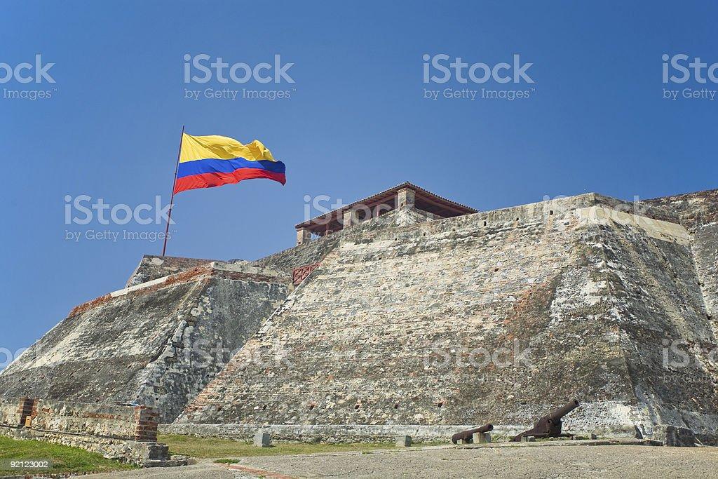 San Felipe Fort, Cartagena stock photo