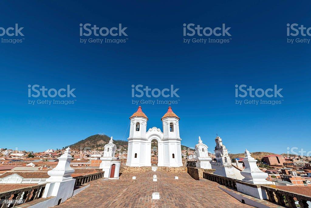 San Felipe Neri Convent stock photo