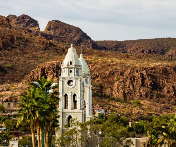 San Fernando Kathedrale in Mexiko. Die Kathedrale ist die älteste in Guaymas Stadt. – Foto