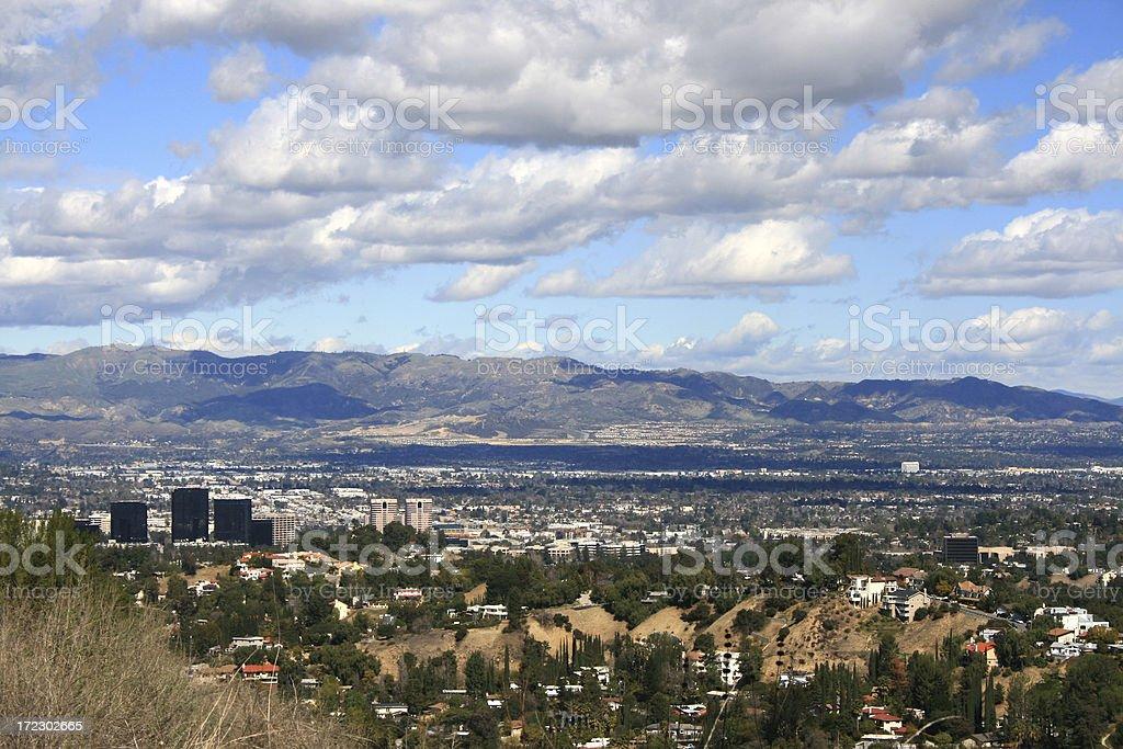 San Fernando Valley - California stock photo