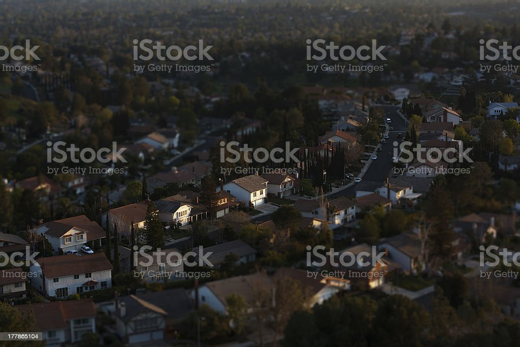 San Fernando Valley, Los Angeles, California, stock photo