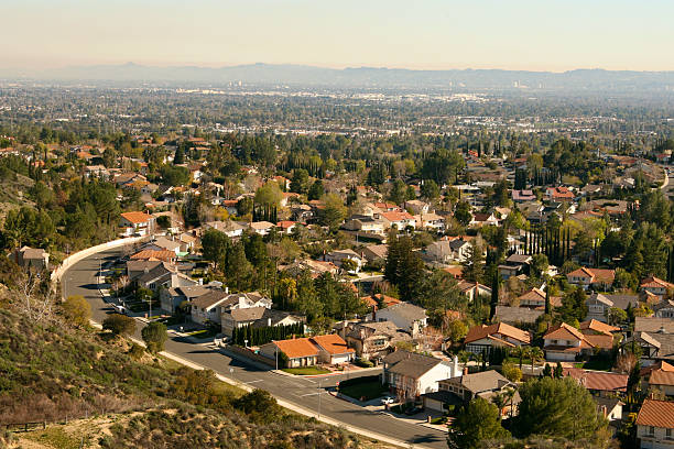 san fernando valley - san fernando valley stock photos and pictures